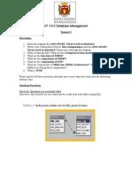Database Management(Tutorial 2)