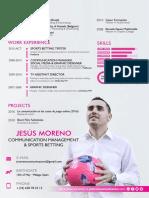 Curriculum Vitae Jesús Moreno