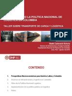 La Politica Nacional de Logistica (implementación)