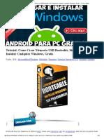 Tutorial_ Como Crear Memoria USB Booteable, Sin Programas e Instalar Cualquier Windows.