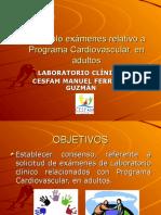 Camino a Protocolo Exámenes Laboratorio Clínico Relativo A