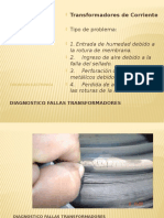 DIAGNOSTICO FALLAS TRANSFORMADORES