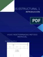 Clase Vigas Hiperestaticas con matrices