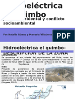 Justicia Ambiental y Conflicto Socioambiental hidroeléctrica el quimbo