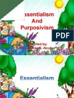 Essentialism and Purposivism
