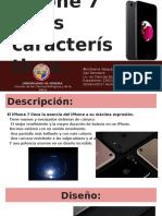iphone 7 y sus características.