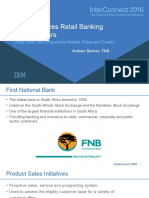 Avsharn Bachoo FNB Optimizes Retail Banking Product Offers Using Real-Time Propensity Models Rules and Events