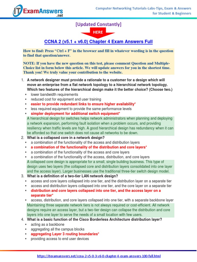 CORRECTION EXAMEN FINAL CCNA 2 V4 PDF