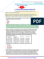 CCNA 2 (v5.0.3 + v6.0) Practice Final Exam Answers 2017 – 100% Full