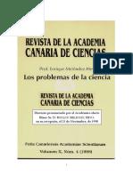 Meléndez-Hevia, Enrique - Los problemas de la ciencia