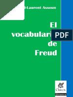 El Vocabulario de Freud . Assoun Paul Laurent