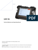 Usm 36 Operation Manuals