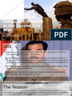 how the united states got involved in the second iraq war