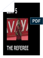 Futsal LAW 5 - The Referee and the Second Referee With Video