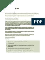 Visa Information to Enter Philippines (1)