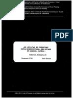 Guimaraes Roberto 1997. El Leviatan en extinción. Notas sobre la reforma del Estado en América Latina.