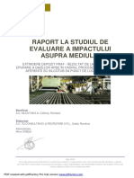 - Raport Studiu de Impact- Extindere Depozit de Praf SC Silcotub SA Calarasi