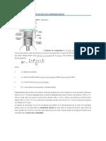Relación de Compresión de Un Motor de Combustión Interna
