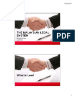 The Malaysian Legal System