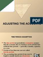 Adjustment & Adjusting Entries