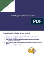 Introdução Ao MS-Project