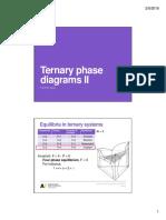 Week 6 Ternary Phase Diagrams II