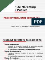 CeRP - Curs 5 (Proiectarea Unei Cercetari)