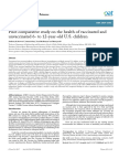 Vaccination and Health Outcomes a Survey of 6- To 12-Year-old Vaccinated and Unvaccinated Children Based on Mothers' Reports