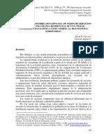 Analisis de La Distribucion Espacial de Nodo de Servicios