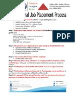 International Job Placement Process