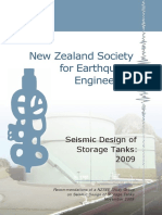 NZSEE Seismic Design of Storage Tanks 2009