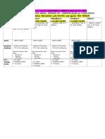 grade 4 blue homework calendar- q 4 week 6