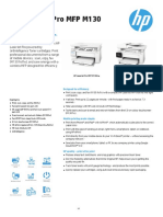 HP LaserJet Pro MFP M130 Printer series