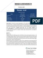 Asam humat-Technicial Sheet-Humic Acid-Ganzhou Green Top Biological Technology Co.,Ltd.