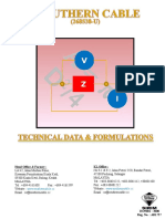 20 - Technical Data & Formulations