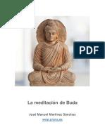La Meditación de Buda - Jose Manuel Martinez Sanchez