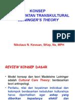 Keperawatan Transkultural Leiningers Theory (Final)