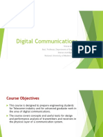 Lecture 1 Introduction to Digital comm