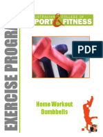 Home Workout Dumbbells