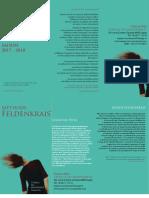 Programme 2017-2018 Espace Du Mouvement