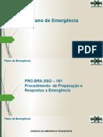 Plano de Emergencia