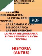 Ficha Resumen y Textual