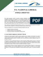Moțiunea lui Ludovic Orban - PNL Forța Dreptei