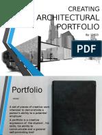 Creating Architecture Portfolio
