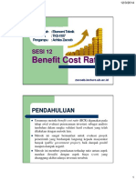 12 Benefit Cost Ratio