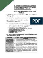 204967107 Resumen Del Ensayo Historico Sobre La Nocion de Estado en Chile en Los Siglos XIX y XX de Mario Gongora