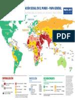 Mapa de la homofobia en el mundo