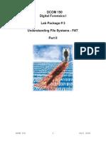DCOM 150-Lab 3(Digital Forensensics)