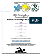 house swimming