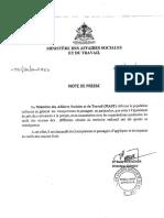 #Haiti Tarifs des courses de Transports publics!   Dossier Complet!